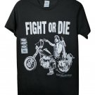 New, Fight Or Die, Daryl Dixon Licensed, The Walking Dead, Men's T-Shirt, Size S