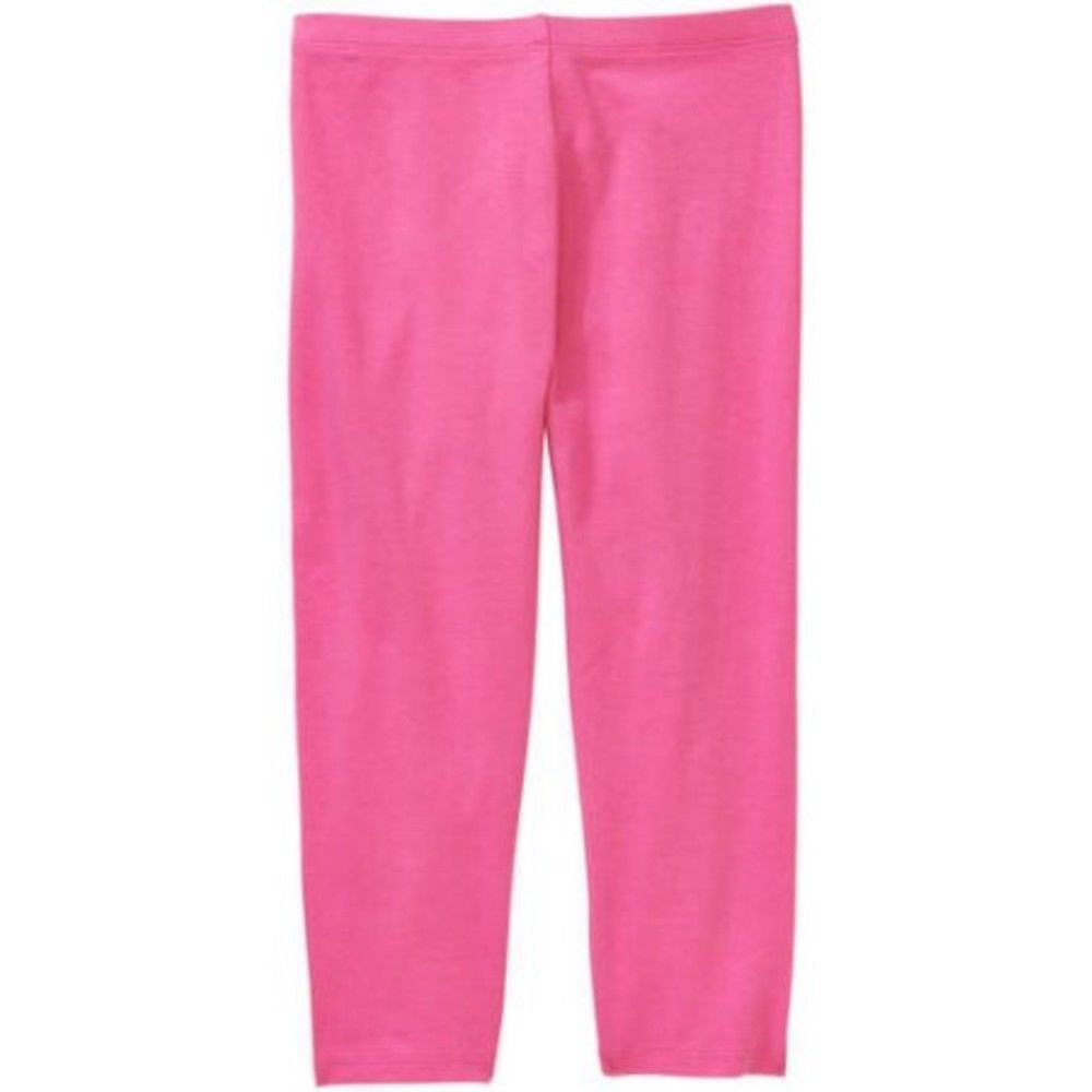 NEW with Tag, Girls FADED GLORY Legging Capri, Size: M, Bubblegum Pink