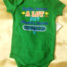 New Baby Boy Creeper Bodysuit One Piece Size 12 Months