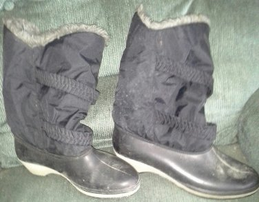 Ladies Nylon Snow Boots