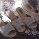 Ladies open back shoes  2 pair lot