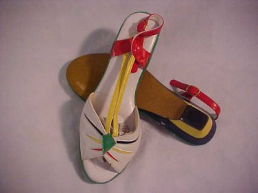 Ladies Strap Style Open Shoes