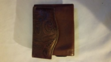 Vintage Amity Leather Cardette Women's Wallet Billfold Credit Card Coin Purse