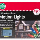 Multi-Color Function Motion Light Set, 150-Count