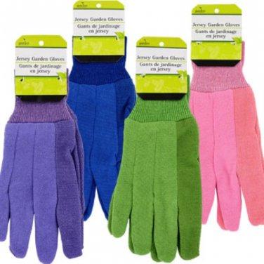 Garden Collection Ladies� Jersey Gardening Gloves Dozen Deal