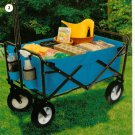 Red or Green Folding Wagon