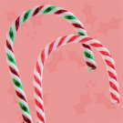 """Giant Twisted Plastic Candy Canes, 32"""" set of 12"""