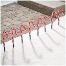 Lighted Pathway Candy Canes, 8-Pack
