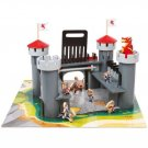Alex Brands Pretend Wooden Dragon Castle 55 Piece Set