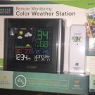 La Crosse Wireless Remote Monitoring Color Wifi Weather Station Model C84343