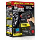 Air Hawk Deluxe Cordless Tire Inflator with Carry Bag As Seen on TV