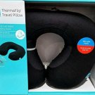 Airia Living ThermaFlip Travel Pillow Black