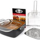 Gotham Steel Ceramic and Titanium Nonstick Deep Square Pan Set