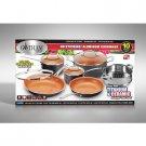 Gotham Steel 10-Pc. Aluminum Cookware Set