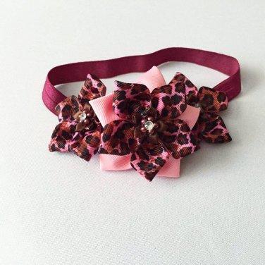Kanzashi Pointed Petals Headband