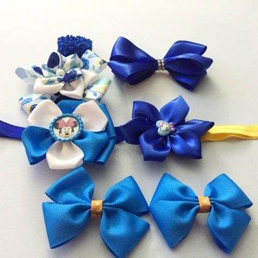 6pcs Blue Accessories