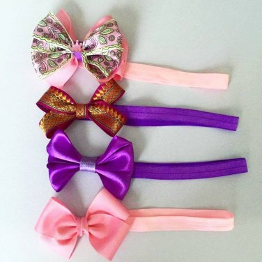 4 Pcs Headbands Lot