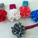 Grosgrain Flowers Headband Lot