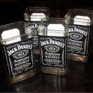 Jack Daniels Hand Cut Upcycled Glasses (x4)