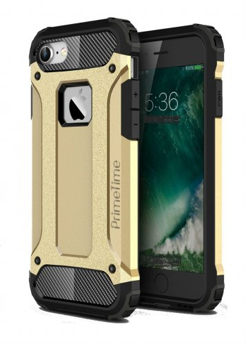 Apple iPhone 6 Plus PrimeTime [Armor X] Case Gold Shockproof Protective Cover