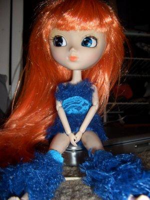 Sexy Cookie Monster Halloween Costume - Pullip