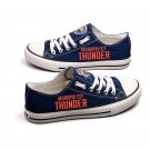 Oklahoma City Thunder Blazer Shoes Canvas Sneakers Unisex, Gift for Him, Anniversary Gift
