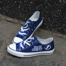 Tampa Bay Lightning Gear Sale Men Womens Canvas Sneakers Shoes, Gift Idea