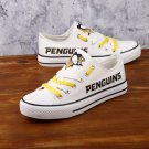 Pittsburgh Penguins Shoes and Socks Unisex Canvas Sneakers Gift Basket Idea