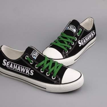 sports shoes 56fc3 af45c Custom Seattle Seahawks Shoes Men Women Gift Shop Items