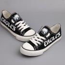 Philadelphia Eagles Shoes for Men Women Canvas Sneakers Black Birthday Gift