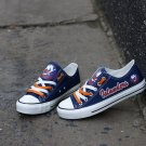 New York Islanders Gifts for Men Teaches Women Canvas Sneakers Graffiti Shoes