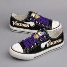 Minnesotta Vikings Shoes for Men Women Custom Canvas Sneakers Gift Black