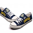 Custom University of Connecticut Canvas Huskies Shoes Sneakers for Men Women Cool Gift Idea