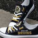 Boston Bruins Running Canvas Shoes Sneakers Best Gift Ideas
