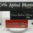 Set of Cards Against Disney Red and Black Cards Against Muggle Harry Potter Board Game