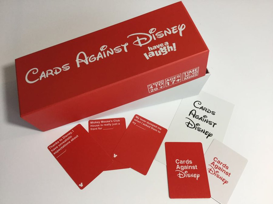 Cards Against Disney Red Box Online Cards Against Humanity ...