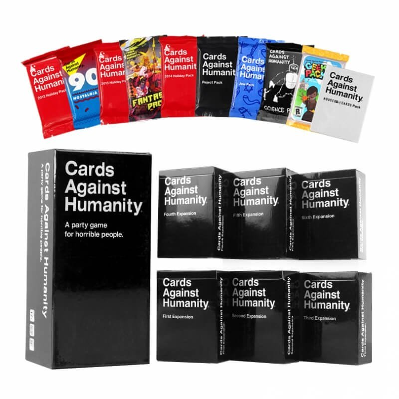 Cards Against Humanity 2.0 Expansions 1st-6th and 10 Base Packs