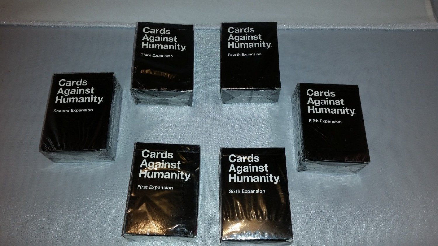 Cards Against Humanity 1-6 Expansions Pack Store Online