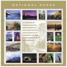 USPS SHEET of USPS New National Parks Pane First Class Postage Forever Stamps Booklet