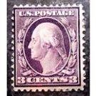 USPS Scott #333 Washington/Franklin, Mint H/OG & F/VF, CV = $30 USA First Class Postage Stamps