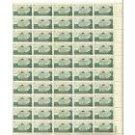 USPS Scott 1108 - 3C Gunston Hall Home Of George Mason Sheet of 50 - 1958 Postage Stamps Booklet
