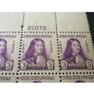 USPS 1932 MNH WILLIAM PENN PLATE BLOCK OF 6 STAMPS SC #724 First Class Postage Stamps Booklet
