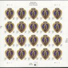 USPS SHEET of 20 2003 PURPLE HEART STAMPS SC# 3784 MNH First Class Postage Stamps Booklet