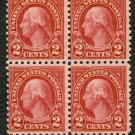 USPS 1926 MNH PRESIDENT WASHINGTON BLOCK OF 4 STAMPS SC # 634 First Class Postage Stamps Booklet
