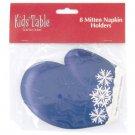 Holiday Fun Kids' Mitten Napkin Holders