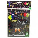 New Year's party bags, pack of 8