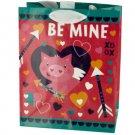 Valentine's Cupig 'Be Mine' Gift Bag