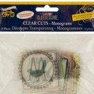 Clear Cuts Monograms Set
