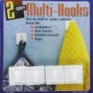 Peel and stick hooks