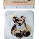 Teddy Bear Jointed Party Banner
